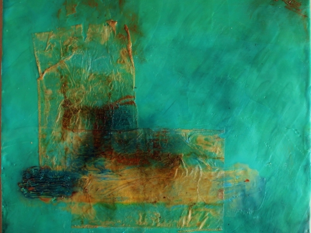 how to make encaustic painting
